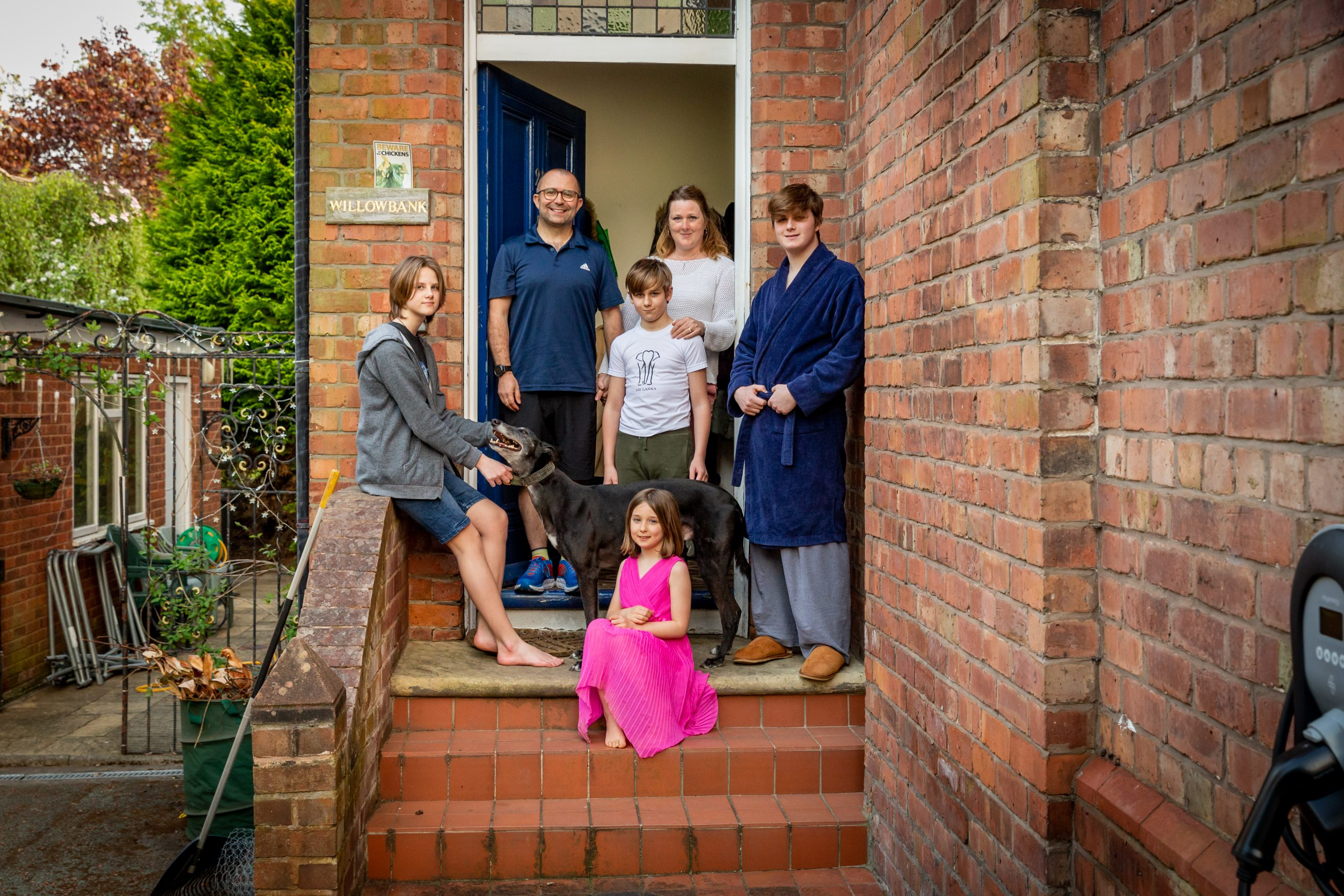 Doorstep Portraits during the Covid-19 Lockdown